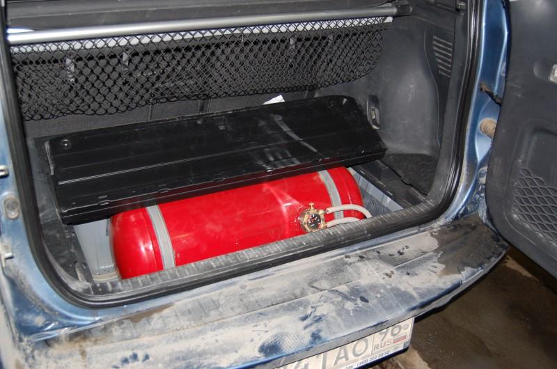 toyota rav 4 газовая установка